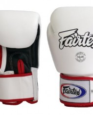fairtex bgv1 white red trim