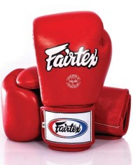 fairtex red muay thai gloves