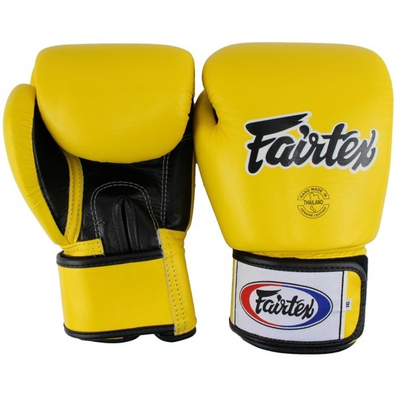 fairtex yellow gloves