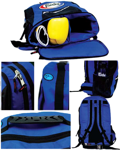 fairtex back pack features 2