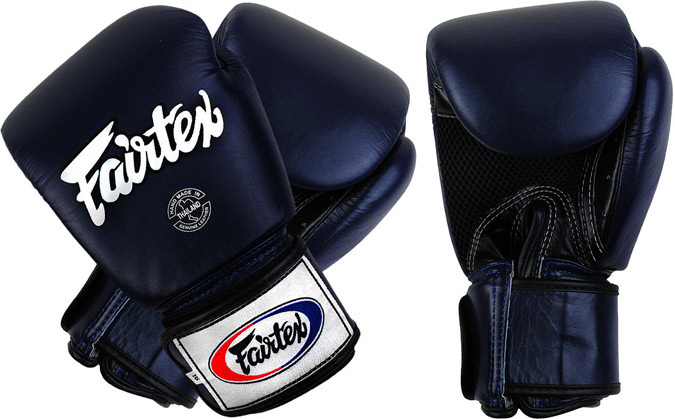 fairtex breathable gloves blue