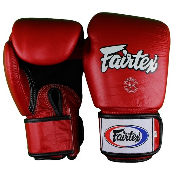 fairtex breathable gloves red