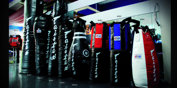 fairtex heavy bags 2