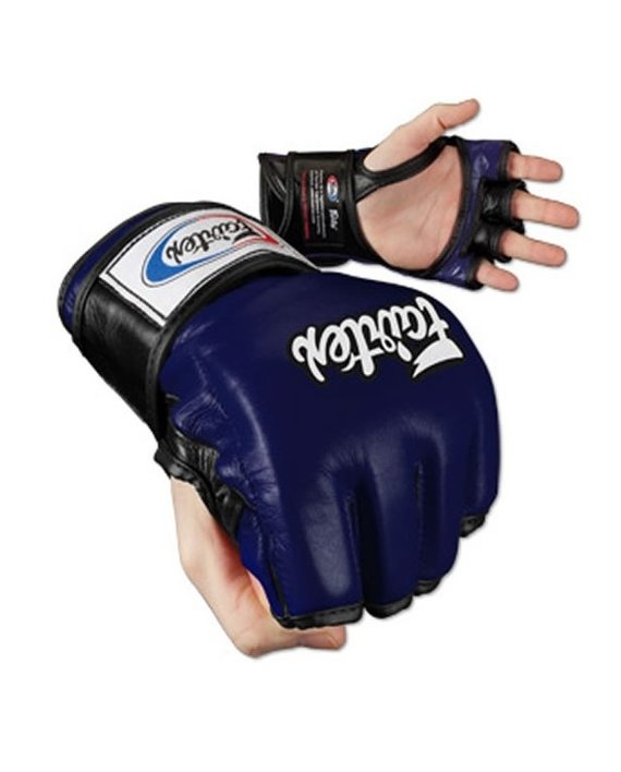 fairtex mma gloves blue