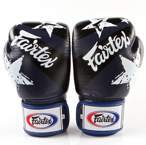fairtex nation blue gloves