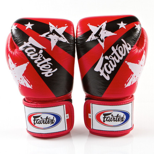 fairtex nation gloves red 1