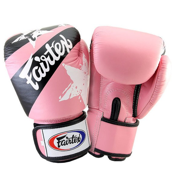 fairtex nation pink gloves