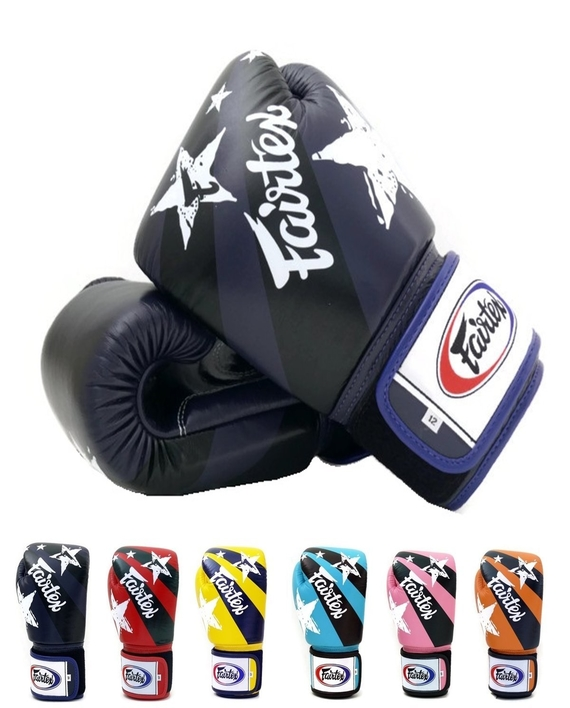 fairtex nation print gloves 2