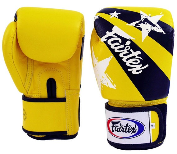 fairtex nation yellow gloves