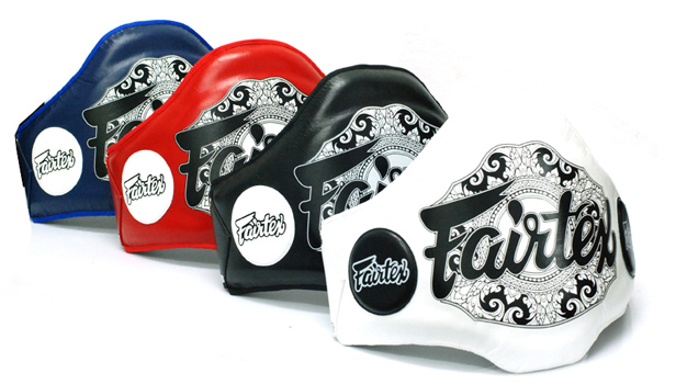 fairtex product belly pad champion belt 2