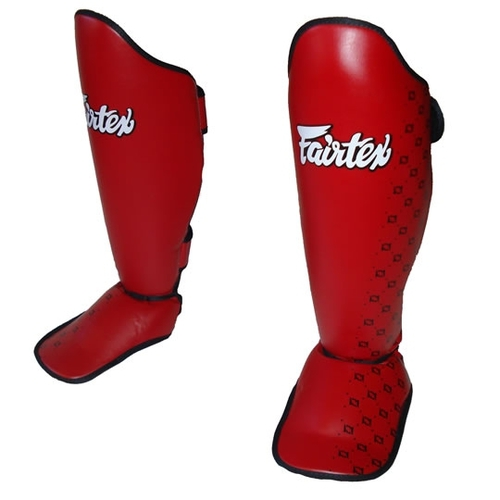 Fairtex SP5 Competition Muay Thai Shin Guards Black