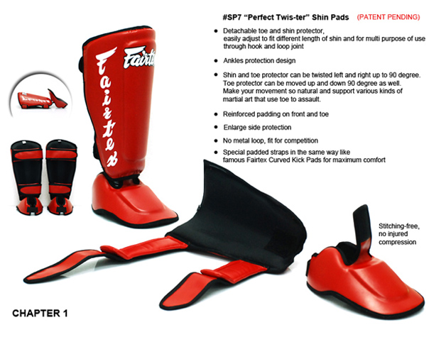 fairtex sp7 shin pads