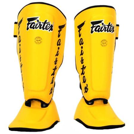 fairtex yellow sp7 shin guards