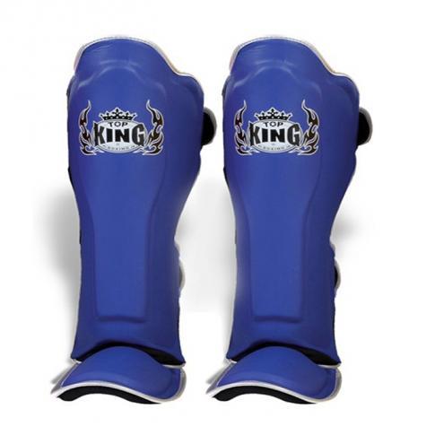 top king blue shin guards