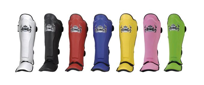 top king shin guards multicolor