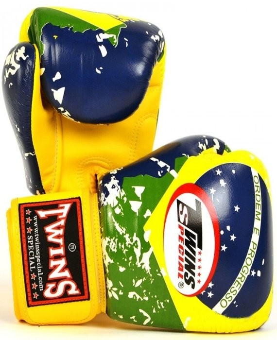 twins brazil flag gloves