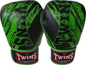 twins gloves green black