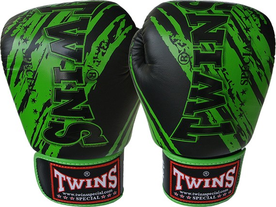 twins gloves green black