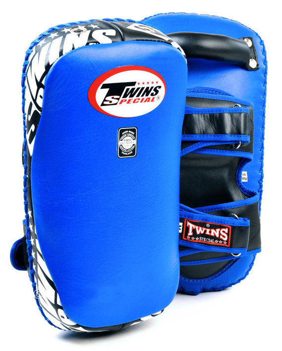 twins kick pads blue
