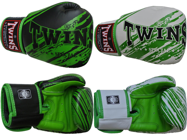 twins special green accent gloves