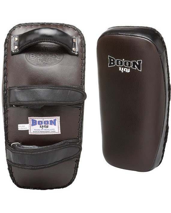 boon curved velcro kick pads