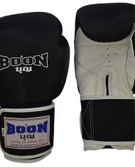 boon gloves black with white palm