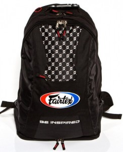fairtex backpack black 2