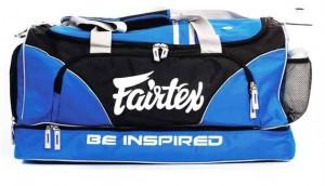 fairtex duffel bag blue