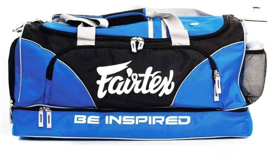 fairtex duffel bag blue