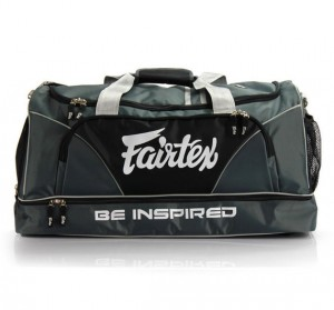 fairtex duffel bag grey color