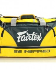 fairtex duffel bag yellow color