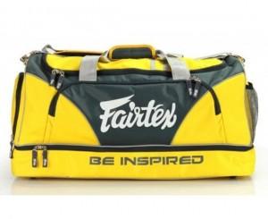 fairtex duffel bag yellow color