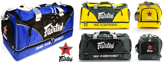 fairtex duffel bags multicolor