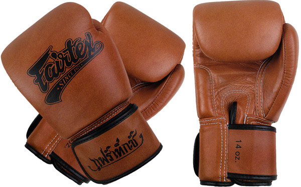 fairtex gloves brown 4