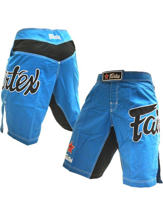 fairtex mma shorts blue