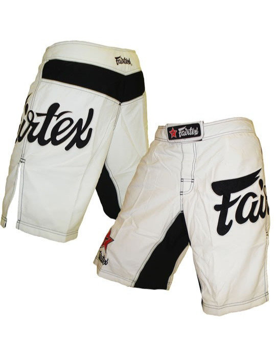 fairtex mma shorts white