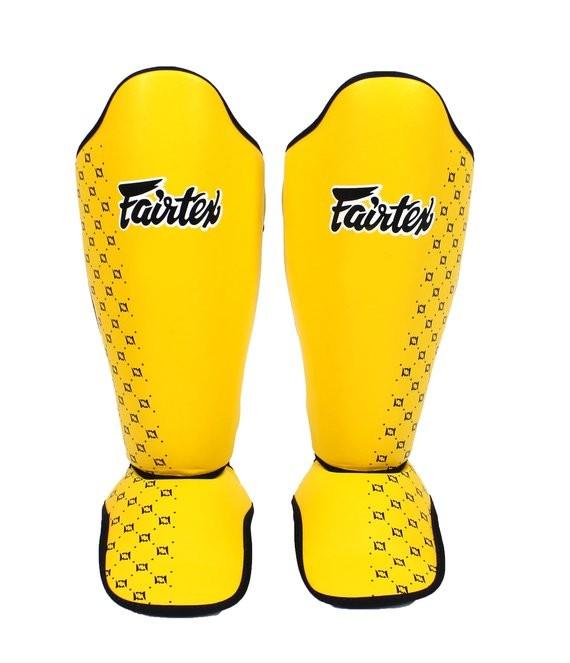 fairtex yellow shin guards