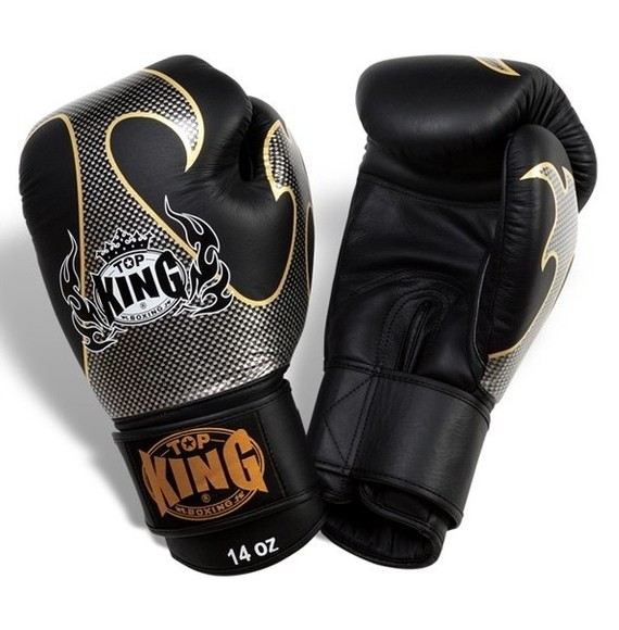 top king empower gloves black