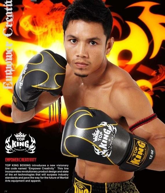 top king empower muay thai gloves