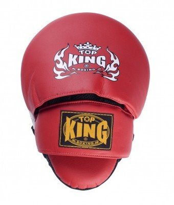 top king focus mitts red 6
