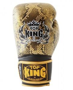 top king snake design gold