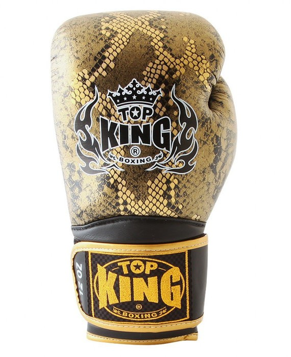 top king snake design gold