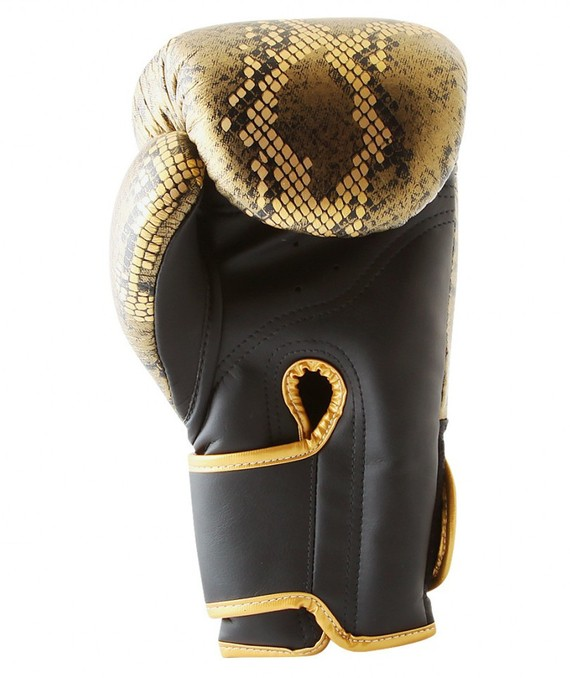top king snake design gold front