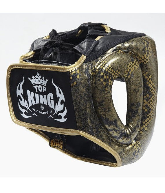 top king snake head guard back
