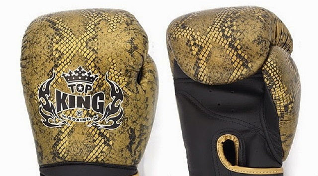 top king snake muay thai gloves