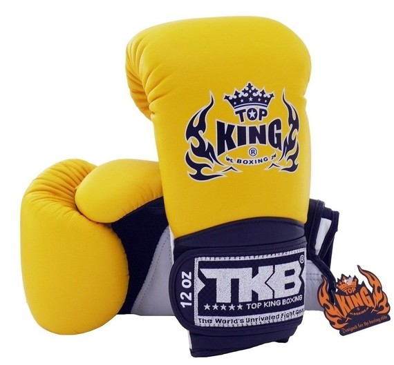 top king super air gloves yellow