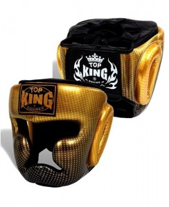 top king superstar head guard gold