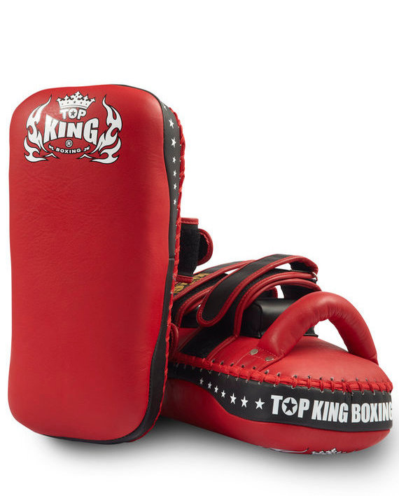 top king tkkps red muay thai pads