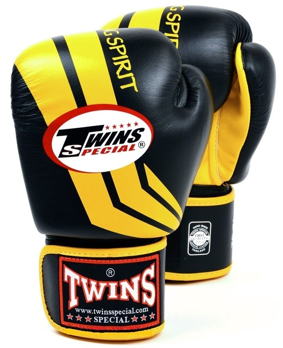 twins cross stripe gloves