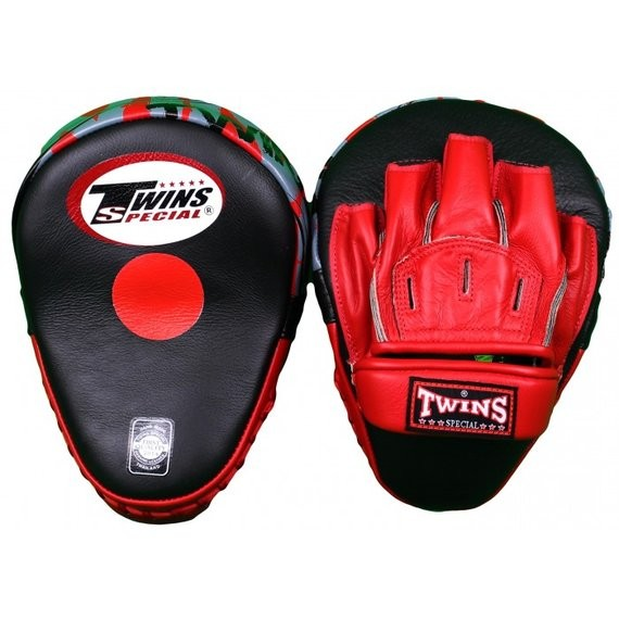twins focus mitts red